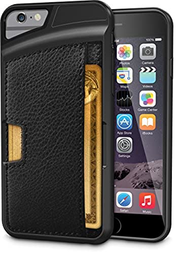 Good Black Leather Protective iPhone 6