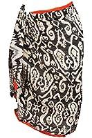 Raivar 100% Cotton Sarong Beach Cover Up Wrap Dress For Women One Size