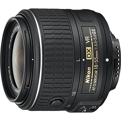 Nikon AF-S DX NIKKOR 18-55mm F/3.5-5.6 G VR II Lens # 2211 - (Certified Refurbished)