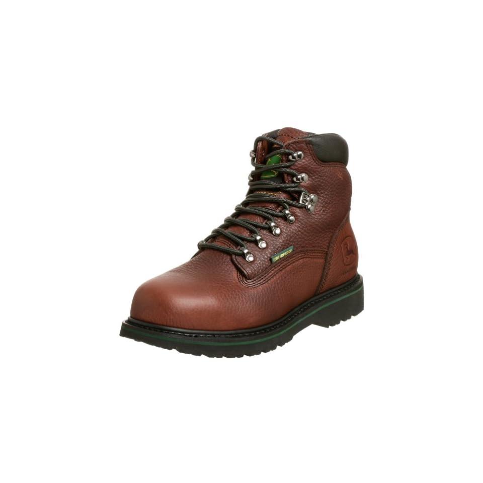 John Deere Mens 6inch WCT waterproof L Work Boot