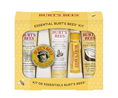 凑单品:Burt's Bees 小蜜蜂 Essential Everyday Beauty Kit 底子美容照顾护士5件套 $7.99(可S&S)