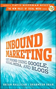 "Cover of ""Inbound Marketing: Get Found Us..."