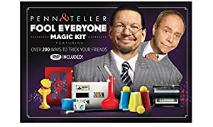 The Penn & Teller Fool Everyone Magic Kit - Over 200 Ways To Trick Your Friends by Royal Magic