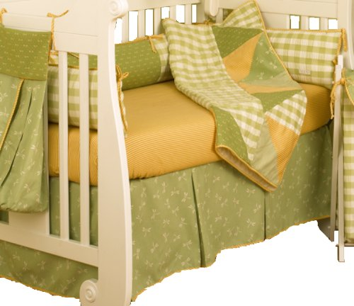 Cotton Tale Designs Dragonfly II 4 Piece Crib Bedding Set