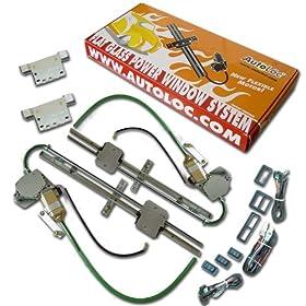 AutoLoc PW55033 Flat Power Window Kit