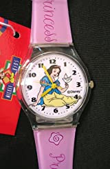 Disney Princess Snow White Pink Jelly Analog Wrist Watch