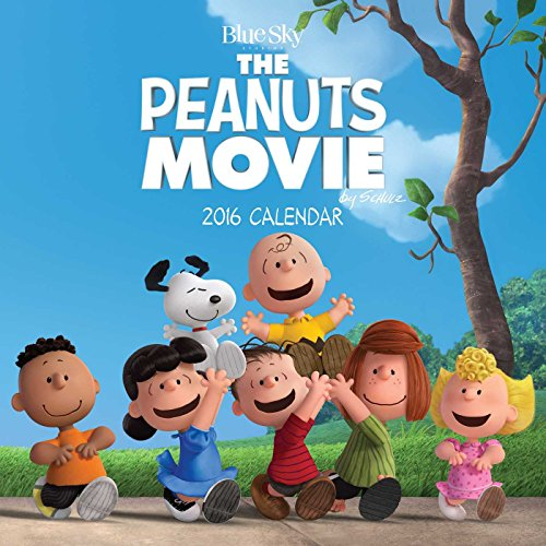 The Peanuts Movie 2016 Wall Calendar