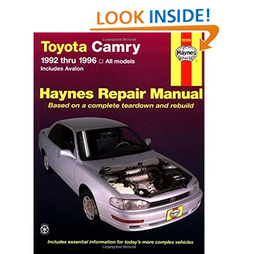 Contents contributed and discussions participated by eric helstrom haynes repair manual toyota fandeluxe Images