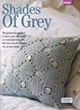 Shades of Grey Cushion Cover Crochet Knitting Pattern: Measurements 30cm x 30cm,: Materials DK Cotton (Woman's Weekly Magazine Pull Out Pattern)