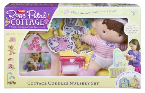 Playskool Rose Petal Cottage Cuddles Nursery Set