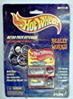 Hot Wheels 2000 Retro Pack Keychain with Redline Mini Car