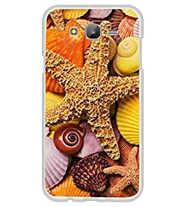 Star fish 2D Hard Polycarbonate Designer Back Case Cover for Samsung Galaxy On7 G600FY :: Samsung Galaxy On 7 (2015)