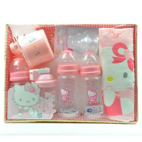 Hello Kitty Baby Gift Sets : Galleon new hello kitty baby bottles gift set bpa free
