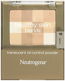 buy Neutrogena Healthy Skin Translucent Oil-Control Powder, Clean 10, 0.2 Ounce