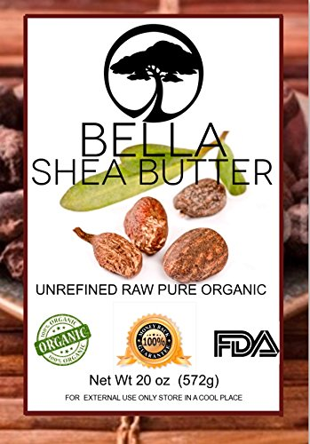 100% Unrefined Organic Shea Butter ★ Bella Shea Butter 20 Oz ★ Free 25% More Get 20 Oz For The Price Of 16 Oz★ Not Just Another Shea Butter But The Best Shea Butter★ Bella Is Packaged In A Fda Registered Facility★Yellow
