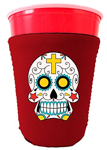 Coolie Junction Sugar Skull Solo/Party Cup Coolie Red (Red Solo Cup Bottle Opener compare prices)