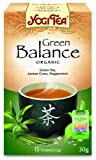 Yogi Tea Green Balance 15 Organic Teabags (Pack of 8, Total 120 Teabags)