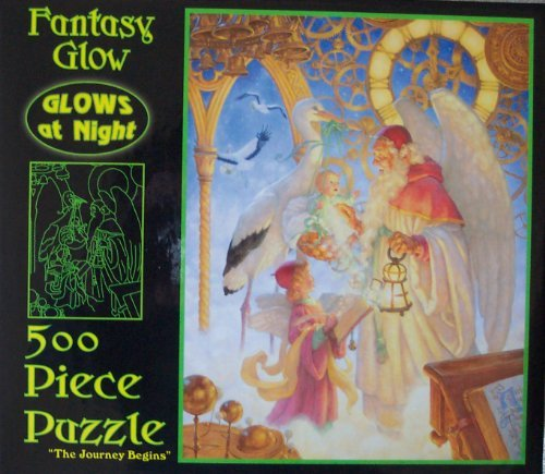 "Fantasy Glow 500-Piece Jigsaw Puzzle - ""The Journey Begins"""