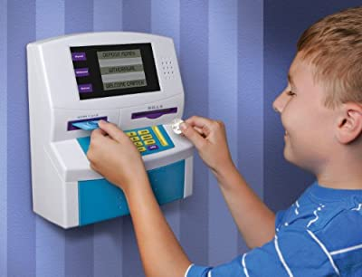 Blue Hat Fun 2 Save Kids Electronic ATM Bank
