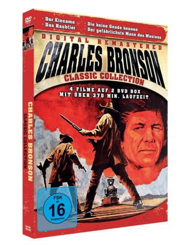 Charles Bronson-Collection *4 Filme auf 2 DVDs* -Digitally remastered!-