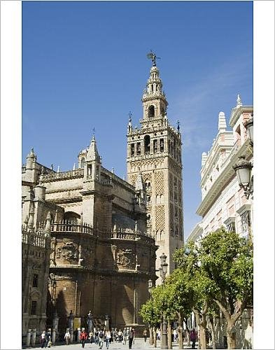 Photographic Print Of Seville Cathedral