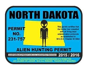 North dakota alien hunting permit license for Fishing license nd