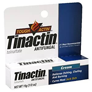 Amazon.com : Tinactin Antifungal Jock Itch Cream - 15 G ...