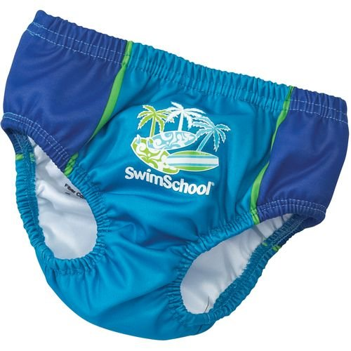 Aqua Leisure Swim School Boys Reusable Swim Diaper 6 Months 13-18 Lbs front-777979