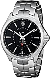 TAG Heuer Men's WAT201A.BA0951 Automatic Stainless Steel Watch with Black Dial