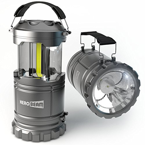 HeroBeam-LED-Lantern-V20-with-Flashlight-2016-COB-Technology-emits-300-LUMENS-Collapsible-Tough-Lamp-Great-Light-for-Camping-Car-Shed-Attic-Garage-Power-Cuts-5-YEAR-WARRANTY