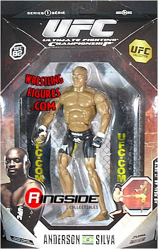 Buy Low Price Jakks Pacific UFC Deluxe Action Figure – Anderson Silva (B001W34CJO)