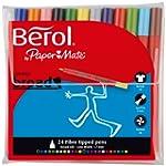 Berol Colour Broad Pen - Assorted Col...