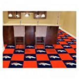 "Denver Broncos Carpet Tiles 18""x18"" tiles at Amazon.com"