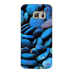 Bluish Pebbels Back Case Cover for Samsung Galaxy S6 Edge Plus
