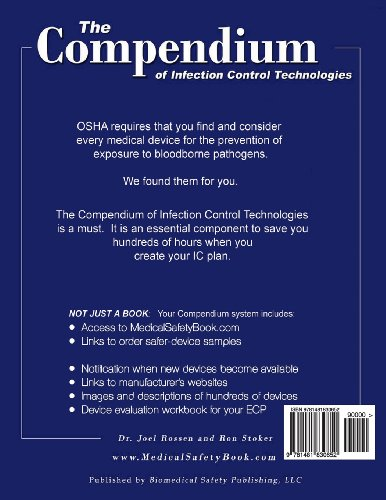 The Compendium of Infection Control Technologies Workbook Introduction: Medical Safety Device Workbook Series: Volume 1 (The Compendium of Infection Control Technologies Workbook Series)