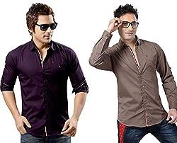 RX3 by Redox Slim Fit Shirt[9536-2-PCK2-13-12-XL]