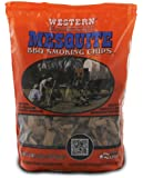 Western Mesquite Wood Smoking Chips 2 1/4 lb Bag