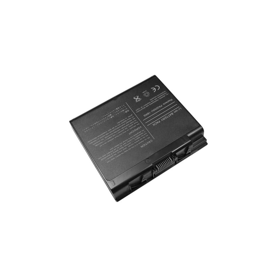 AGPtek High Capacity High Quality Li ion Battery [6600MAH 12 Cells] For TOSHIBA Satellite 2430 S2430 2435 Series Satellite A30 A35 Series fits PA3239 PA3250 PA3250U PA3250U 1BAS PA3250U 1BRS PA3335U 1BAS PA3335U 1BRS PABAS031 Laptop Notebook Main Battery