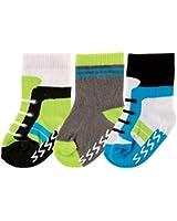 Luvable Friends 3 Pack Shoe Socks, Pink