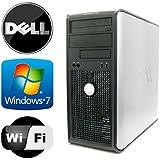 Dell Optiplex 745 Tower - Intel Pentium Dual Core 3.4GHz - 4GB RAM - 1TB HDD - Microsoft Windows 7 - WiFi - DVD-ROM