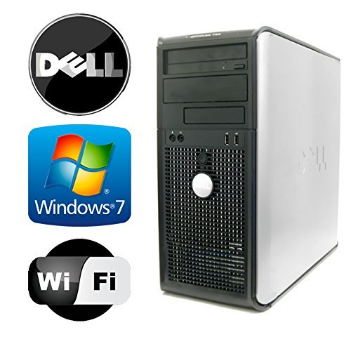 Dell Optiplex 745 Tower – Intel Pentium Dual Core 3.4GHz – 4GB RAM – 1TB HDD – Microsoft Windows 7 – WiFi – DVD-ROM
