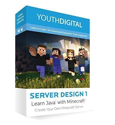Server-Design-1-Kids-Ages-8-14-Learn-to-Code-in-Java-Create-Their-Very-Own-Server-with-Minecraft--PC-Mac-Online-Code
