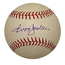 Autographed Reggie Jackson MLB Baseball (MLB Authenticated)