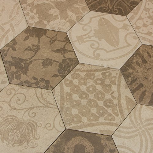 atlas-hexagon-patchwork-warm-6-eckige-bodenfliesen-25-x-22-cm-feinsteinzeug-fliesen-in-stein-optik-1