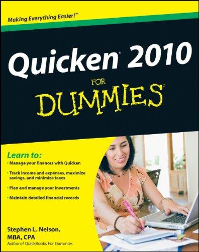 quicken-2010-for-dummies