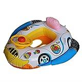 Amazon.co.jpCA Mode(JP) 赤ちゃん ベビーボート ハンドル付 夏グッズ アウトドア 車の形 スイム席 4色ランダムで発送