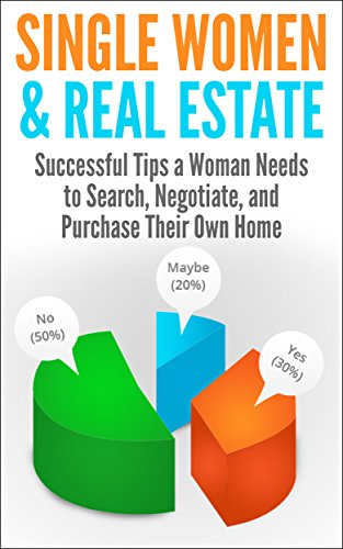 Single Women & Real Estate: Successful Tips A Woman Needs To Search, Negotiate, And Purchase Their Own Home (Buying A House, Searching For A House, Negotiating ... Estate Investment, Real Estate Planning) front-100212