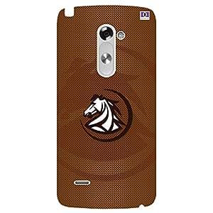 Horse Brown Design - Mobile Back Case Cover For LG G3 Stylus