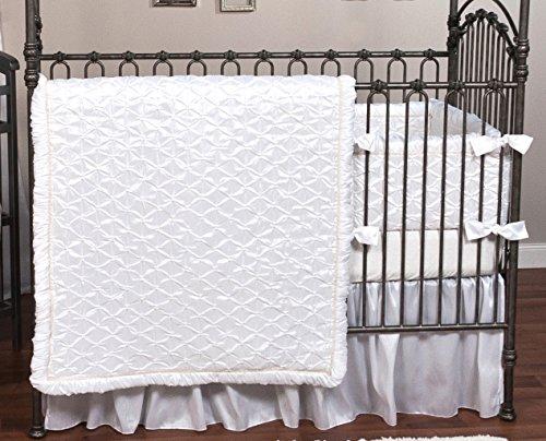 Trend Lab Marshmallow 3 Piece Crib Bedding Set