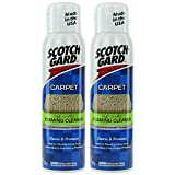 2 X 3M SCOTCH GARD SCOTCHGARD RUG/CARPET HIGH TRAFFIC FOAMING CLEANER PROTECTOR